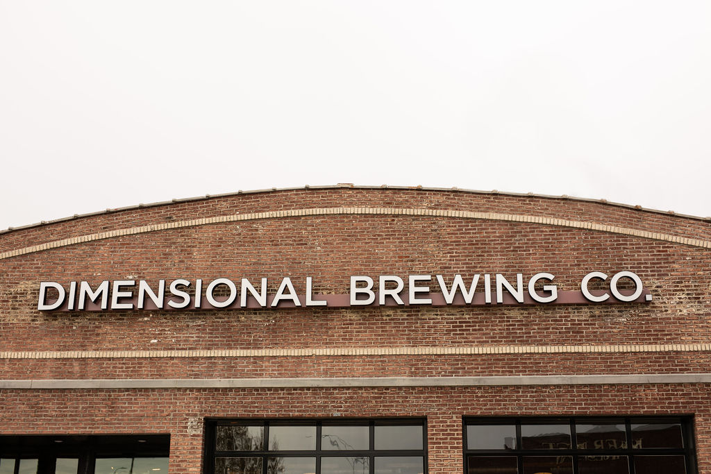 Dimensional Brewing Face-Lit Illuminated Channel Letters