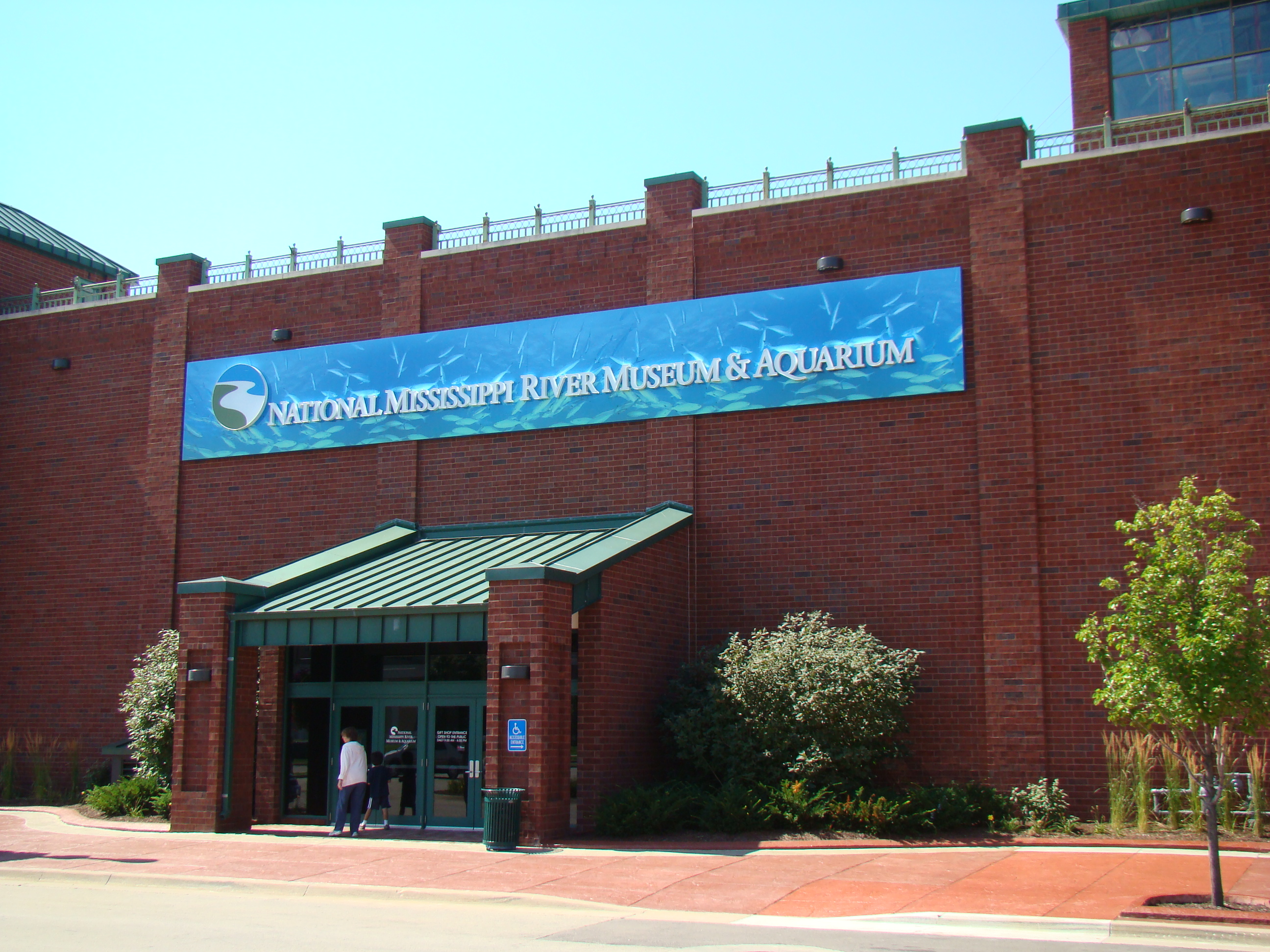 National Mississippi River Museum & Aquarium Sign Package